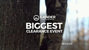 Gander Outdoors Biggest Clearance Event TV Spot, 'Everything Must Go'