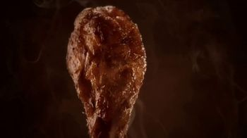 Hooters Smoked Wings TV Spot, 'Girl Shock: Uber Eats'