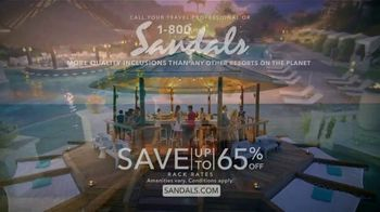 Sandals Resorts TV Spot, 'Make up for Lost Time' - Thumbnail 9