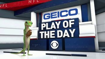 GEICO TV Spot, 'CBS Sports: Play of the Day: Brilliant' - Thumbnail 8