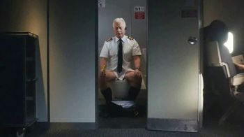 Air Wick V.I.P. Pre-Poop Spray TV Spot, 'Very Important Pilot'