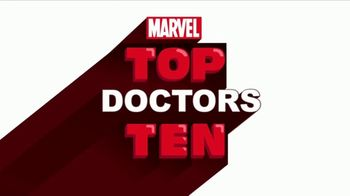 Marvel Comics TV Spot, 'Top Ten Doctors' - 5 commercial airings