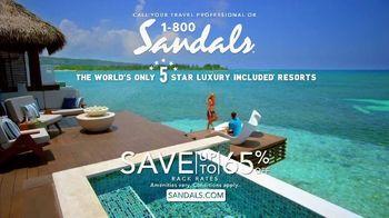 Sandals Resorts TV Spot, 'Luxury' - Thumbnail 10