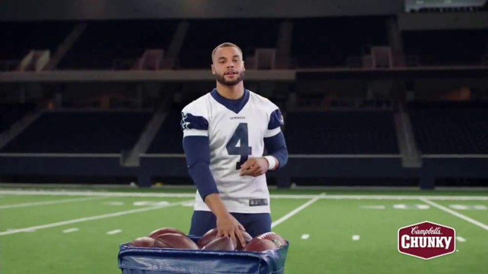 Campbell's Chunky Classic Chicken Noodle Soup TV Commercial, 'Downtime' Featuring Dak Prescott