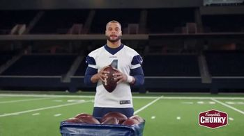 Campbell's Chunky Classic Chicken Noodle Soup TV Spot, 'Downtime' Featuring Dak Prescott - Thumbnail 1
