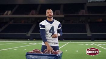 Campbell's Chunky Classic Chicken Noodle Soup TV Spot, 'Downtime' Featuring Dak Prescott