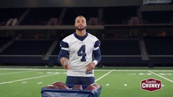 Campbell's Chunky Classic Chicken Noodle Soup TV Spot, 'Downtime' Featuring Dak Prescott - Thumbnail 4