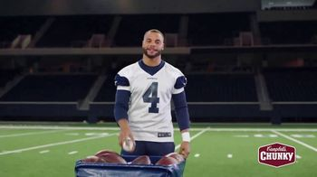 Campbell's Chunky Classic Chicken Noodle Soup TV Spot, 'Downtime' Featuring Dak Prescott - Thumbnail 5