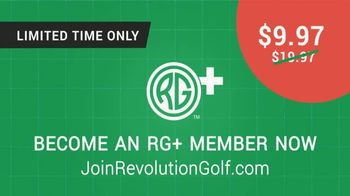 Revolution Golf RG+ TV Spot, 'Exclusive Portal' - Thumbnail 6