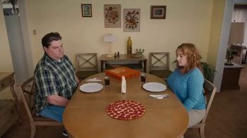 Little Caesars Hot-N-Ready Thin Crust Pizza TV Spot, 'Can't See the Crust' - Thumbnail 1