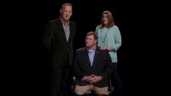 Elizabeth Dole Foundation TV Spot, 'Hidden Heroes Chair: Tom Hanks' - 10 commercial airings