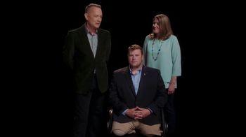 Elizabeth Dole Foundation TV Spot, 'Hidden Heroes Chair: Tom Hanks' - Thumbnail 4
