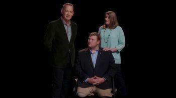 Elizabeth Dole Foundation TV Spot, 'Hidden Heroes Chair: Tom Hanks' - Thumbnail 8