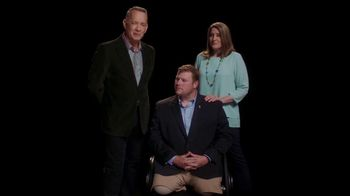Elizabeth Dole Foundation TV Spot, 'Hidden Heroes Chair: Tom Hanks' - 9 commercial airings