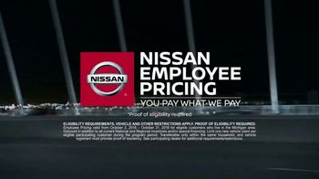 Nissan Employee Pricing TV Spot, 'Advanced Tech' [T2]