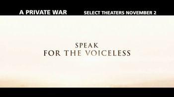 A Private War - Alternate Trailer 1