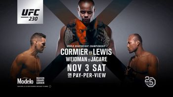 UFC 230 TV Spot, 'Cormier vs. Lewis: Blood in the Water' Song by grandson - Thumbnail 10