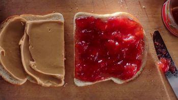 Smucker's Strawberry Jam TV Spot, 'Mighty & Humble PB&J Sandwich'