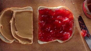 Smucker's Strawberry Jam TV Spot, 'Mighty & Humble PB&J Sandwich' - 3772 commercial airings