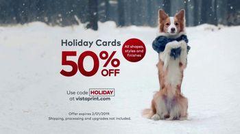 Vistaprint Holiday Cards TV Spot, 'Holiday Cheer: 50 Percent Off' - Thumbnail 10