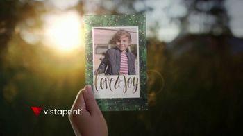 Vistaprint Holiday Cards TV Spot, 'Holiday Cheer: 50 Percent Off'