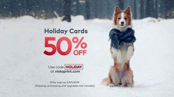Vistaprint Holiday Cards TV Spot, 'Holiday Cheer: 50 Percent Off' - Thumbnail 8