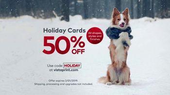 Vistaprint Holiday Cards TV Spot, 'Holiday Cheer: 50 Percent Off' - Thumbnail 9