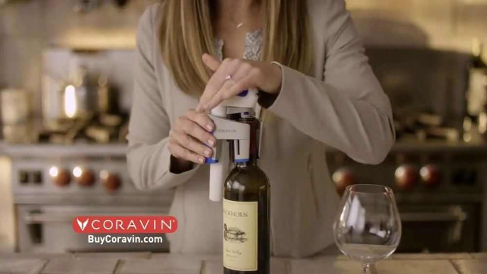 Coravin Tv Commercial Any Wine Any Amount Without Ever