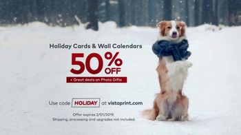 Vistaprint Holiday Cards & Wall Calendars TV Spot, 'Holiday Cheer: Photo Gifts' - Thumbnail 10