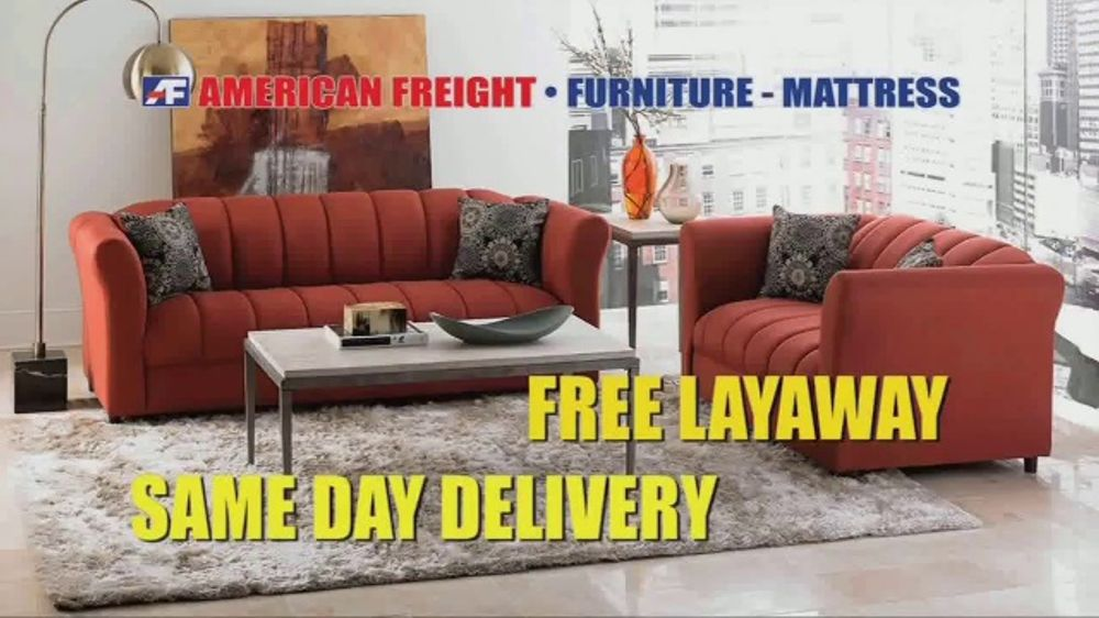 American Freight Inventory Closeout Sale Tv Commercial Your Choice