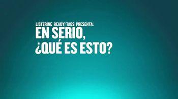 Listerine Ready! Tabs TV Spot, 'Avión' [Spanish] - Thumbnail 1