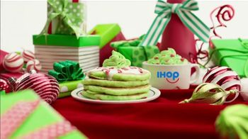 IHOP Grinch Pancakes TV Spot, 'Kids Eat Free'
