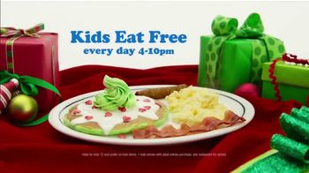 IHOP Grinch Pancakes TV Spot, 'Kids Eat Free' - Thumbnail 6