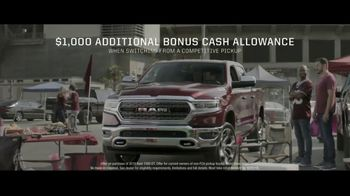 Ram Trucks Power Days TV Spot, 'Tailgating' [T2] - Thumbnail 8