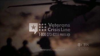 Veterans Crisis Line TV Spot, 'CBS: Seal Team' Featuring David Boreanaz - Thumbnail 9