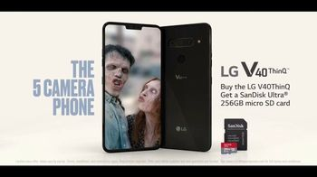 LG V40 ThinQ TV Spot, 'Zombie Selfie' Song by Hot Chocolate - Thumbnail 10