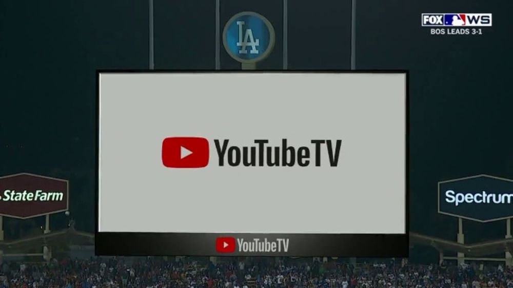 YouTube TV TV Commercial, '2018 World Series Game 5: Stretch Your Legs'