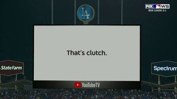 YouTube TV TV Spot, '2018 World Series Game 5: Stretch Your Legs' - Thumbnail 9
