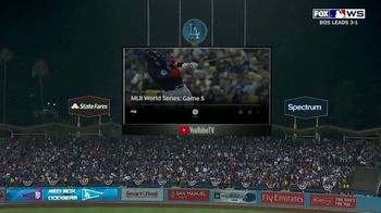 YouTube TV TV Spot, '2018 World Series Game 5: Stretch Your Legs' - Thumbnail 3