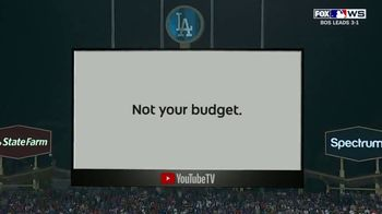YouTube TV TV Spot, '2018 World Series Game 5: Stretch Your Legs' - Thumbnail 4