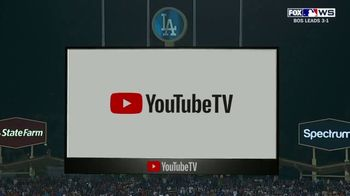YouTube TV TV Spot, '2018 World Series Game 5: Stretch Your Legs' - 2 commercial airings