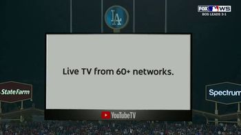 YouTube TV TV Spot, '2018 World Series Game 5: Stretch Your Legs' - Thumbnail 6
