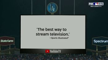 YouTube TV TV Spot, '2018 World Series Game 5: Stretch Your Legs' - Thumbnail 7