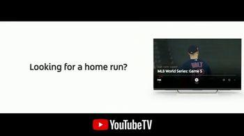 YouTube TV TV Spot, '2018 World Series Game 5: Home Run' - 3 commercial airings
