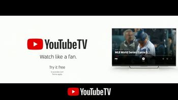 YouTube TV TV Spot, '2018 World Series Game 5: Home Run' - Thumbnail 8