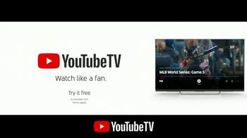 YouTube TV TV Spot, '2018 World Series Game 5: Time for a Change' - Thumbnail 10