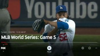 YouTube TV TV Spot, '2018 World Series Game 5: Time for a Change' - Thumbnail 2