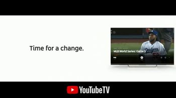 YouTube TV TV Spot, '2018 World Series Game 5: Time for a Change' - Thumbnail 4