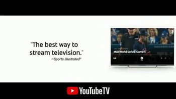YouTube TV TV Spot, '2018 World Series Game 5: Time for a Change' - Thumbnail 7