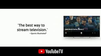 YouTube TV TV Spot, '2018 World Series Game 5: Time for a Change' - Thumbnail 8